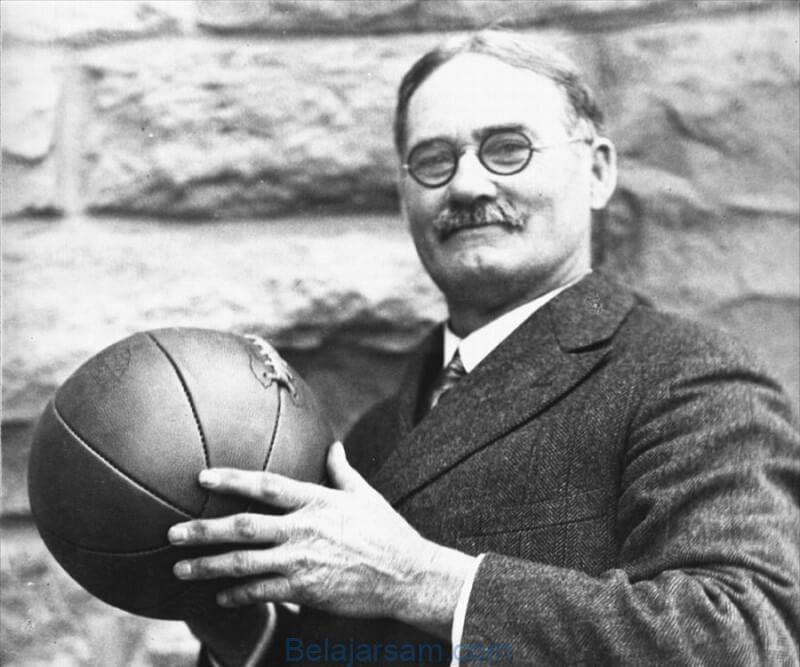 James Naismith penemu olahraga bola basket